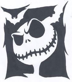 skull stencil template scroll saw patterns pinterest