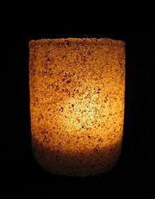 Jesus o Pai da Arte: Luminária de Areia