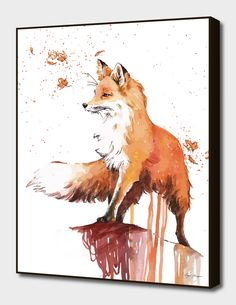 zeichnen aquarell fuchs malen drawing watercolor paint fox Related posts: Fox Say What? Fuchs Illustration, Art And Illustration, Illustrations, Watercolor Illustration, Painting & Drawing, Watercolor Paintings, Fox Painting, Fox Drawing, Fox Cartoon Drawing