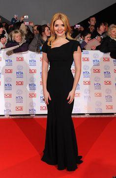 Holly Willoughby at the NTA awards