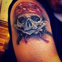 Hard core chef tattoo !