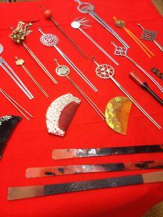 かんざし Kanzashi (ornamental hairpin)