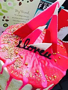 Katherine Sabbath Inspired Valentine's Cake