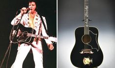 Elvis Presley's Guitar Sells for $334,000 at New York Auction
