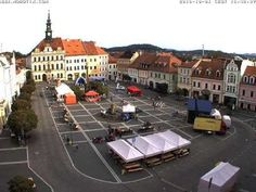 Česká Lípa - timelapse - City Cross Run