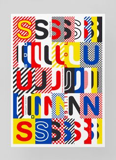 His risograph prints (a trend that is popular among younger designers nowadays) are not the only thing that is stunning in his work. In point of fact, this ultra creative Swiss graphic designer has ma. Typography Letters, Lettering, Typography Served, Buch Design, Typographic Poster, Design Graphique, Graphic Design Inspiration, Daily Inspiration, Prints