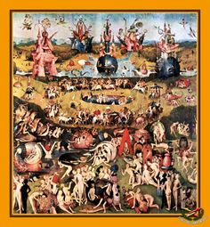 «Сад земных наслаждений»,  Иероним Босх (1450—1516), нидерландский художник Валерий РОКОТОВ  СТЁБЩИКИ. ПОСЛЕДНЯЯ БИТВА