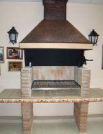 Quincho campana de cobre Ideas Para, Barbecue, Mary, Copper, Projects, Grilling, Little Cottages, Bbq, Barrel Smoker