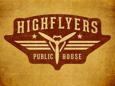 Highflyers Public House by David Cran