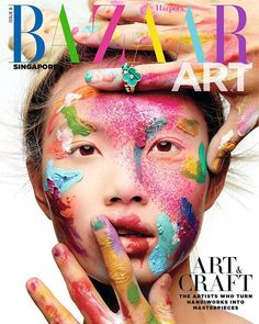 With this month's issue of #BAZAARArtSG we're celebrating the artists who turn handiworks into masterpieces  out on newsstands now with every issue of @harpersbazaarsg! -- Editor-in-Chief: @kennieboy Photographed by @YuTsai88 Styled by Robert Behar Model: @gracepcheng Makeup: @FionaStiles/Starworks Artists Hair: @jrugg8/Starworks Artists Manicure: @christinaviles/Opus Beauty Producer & post production: @88Phases Jewellery: @VanCleefArpels  via HARPER'S BAZAAR SINGAPORE MAGAZINE OFFICIAL…