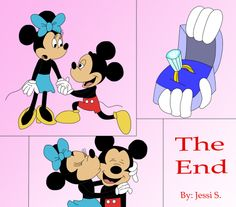 Mickey Proposes to Minne Comic by =RainbowMagicArts