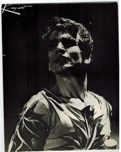 Vittorio Biagi in MARZIA -coreografia Aurelio Millos-Ballet du XX siecle - 1962 Bruxelles-Theatre dela Monnaie
