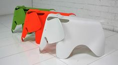 These elephant chairs are adorable for children.  Such fun!