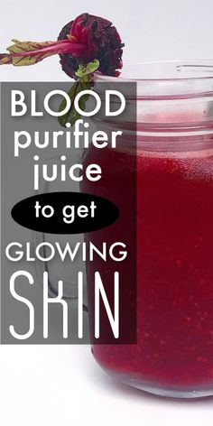 skin care - 1 glass of this blood purifier juice daily and within a week your skin will start to glow like never before Beauty Tips For Face, Beauty Skin, Beauty Hacks, Beauty Care, Beauty Secrets, Beauty Makeup, Natural Hair Mask, Natural Hair Styles, Natural Beauty