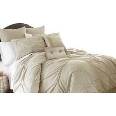 Upgrade your bedroom with this 8 piece gray comforter set queen. Luxuriously soft and wrinkle resistant, the brushed 8 Piece Gray Comforter Set Queen Luxury Comforter Sets Queen, Grey Comforter Sets, Bungalow, Sweet Home, Ruffle Bedding, Kohls Bedding, Thing 1, Settee, Quilt Sets