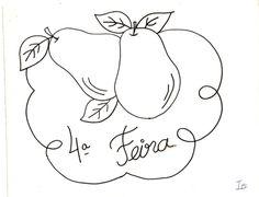 Artes da Nil - Riscos e Rabiscos: Frutas e Arabescos.