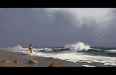 Dreams of the sea, Рем Борейко on ArtStation at https://www.artstation.com/artwork/dreams-of-the-sea
