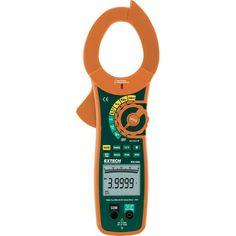 Stromzange, Hand-Multimeter digital Extech MA1500 CAT III 1000 V, CAT IV 600 V Anzeige (Counts): 40000