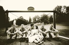 An Independence Day Picnic Wedding: Sarah & Mike; Union Mills Homestead in Westminster, MD