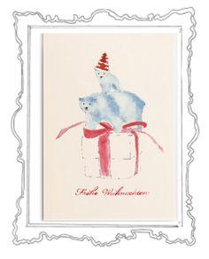 Was gibt es Schöneres als in der glitzernden Weihnachtszeit liebe Menschen mit herzlichen Zeilen zu überraschen und etwas Weihnachtszauber zu verschicken. Das Weihnachtskarten schreiben ist eine zauberhafte Tradition, die zu Weihnachten – dem Fest der Liebe und Familie – einfach dazugehört.  Die elegante Klappkarte, in einem zarten Cremeweiß, hat das Format 118 x 168 mm ( 200g ) und der Umschlag 125 x 176 mm (120g ).