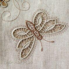 Butterfly 0003 Cutwork digital design by EmbroideryLabDesigns
