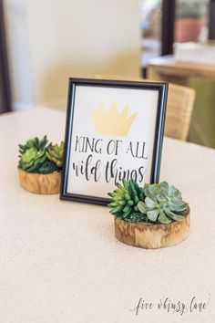 King Of All Wild Things 8x10 Birthday Party Printable Sign    Where The Wild Things Are Party Supplies, Decorations (DIGITAL PRODUCT) ----- Looking for other products that match this theme? Find them here! https://etsy.me/2JuzGtQ This listing is for one high-resolution printable file