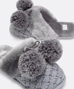Zueco soft lana trenzada - OYSHO Adquirido!