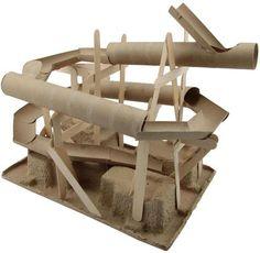 parcours pour les billes en rlx papier fesses et sopalin