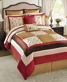 Danya 24 Piece Queen Comforter Set - Bed in a Bag - Bed & Bath - Macy's