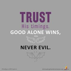 On the Auspicious Occasion of Dussehra . Trust His timings. Good alone wins, never evil. Evil Quotes, Faith Quotes, Winning Quotes, Swag Quotes, Booklet, Quotations, Trust, Prayers, Sisters