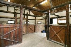 My friend owned this beautiful stable.