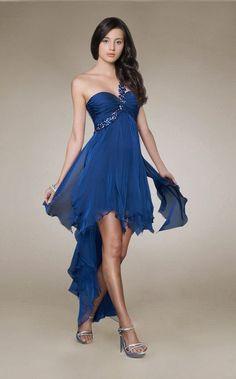 cutenfanci.com royal blue cocktail dress (01) #cocktaildresses