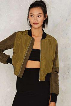 Shareen Bomber Jacket - Clothes | Bomber Jackets | Bombers