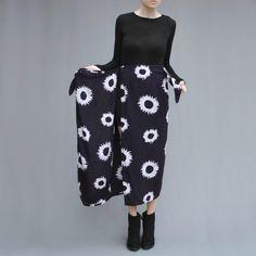 Sarong Wrap Skirt in Aubergine