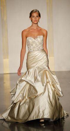 Used Lazaro Wedding Dress Size 4