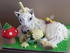 Unicorn Cake by creative mom-2-five, via Flickr
