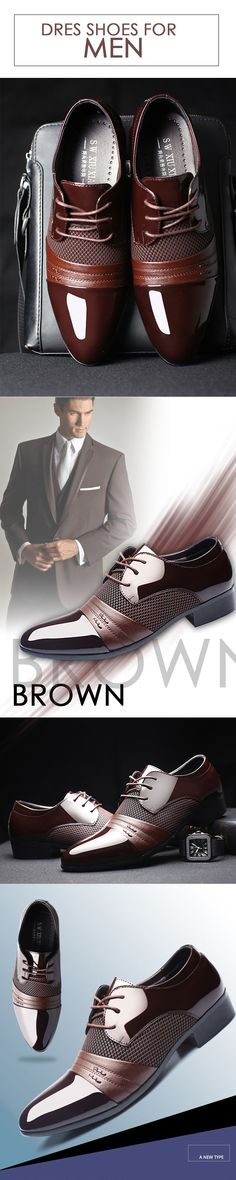 Men's Brown Oxford classic leather shoes --- Men's top brand fashion style business casual affordable attire apparel #oxfordshoes #classicshoes #menshoes #menswear