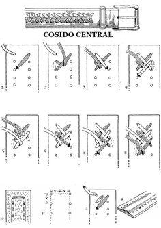 FORO ARMAS BLANCAS - Cuchillos, navajas y más. - COSIDO Y TRENZADO CON CUERO ( TUTORIALES ) - Fundas y talabartería