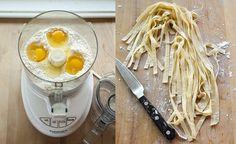 Recipe: How To Make Fresh Pasta Dough in a Food Processor