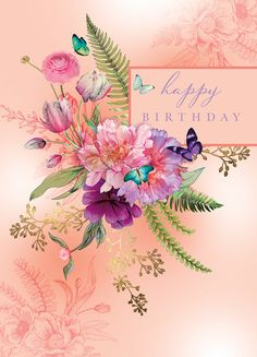 Happy Birthday Greetings Friends, Happy Birthday Art, Happy Birthday Pictures, Happy Birthday Messages, Birthday Cards, Birthday Wishes Flowers, Happy B Day, Belle Photo, Poster