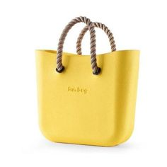 Obag Style Handbag Body (Mini) ($45) ❤ liked on Polyvore featuring bags, handbags, shoulder bags, yellow shoulder bag, shoulder handbags, handbag purse, lightweight handbags and yellow hand bags