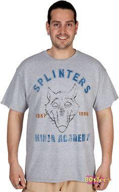 Splinters Ninja Academy Shirt
