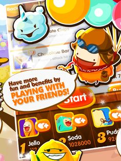Candy Picnic - The sweetest puzzle game has arrived! Get ready for the tastiest challenge!