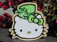 September Ninth: St. Patrick's Day Kitty!