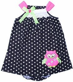 RARE EDITIONS Baby Girls 12-24M Black & White Polka Dot Owl Print Dress24M Rare Editions http://www.amazon.com/dp/B00VEW6IN6/ref=cm_sw_r_pi_dp_5OCIvb0KT2SZ6