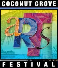 The Coconut Grove Arts Festival (CGAF) is upon us this President's Day weekend, February 15-17, 2o14. It is a 3-day event showcasing the work of over 36o fine artists and craftsmen. Visitors can enjoy the village of Coconut Grove while viewing some of the finest local and international art, feast on scrumptious foods and groove to live music.