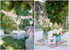 sweet backyard bridal shower - Brooke Photography & Design