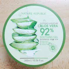 Nature Republic Aloe Vera Gel 92% Review