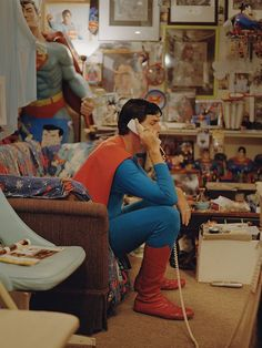 SUPERMAN Memorabilia! https://twitter.com/talley_art