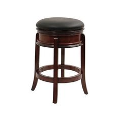 Boraam Magellan 24 in. Swivel Counter Stool - Brandy | from hayneedle.com